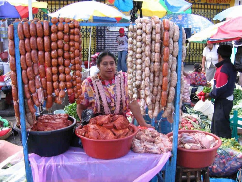 Markets in xela